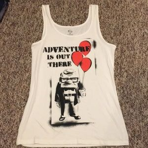 Disney's UP! adventure is out there tank